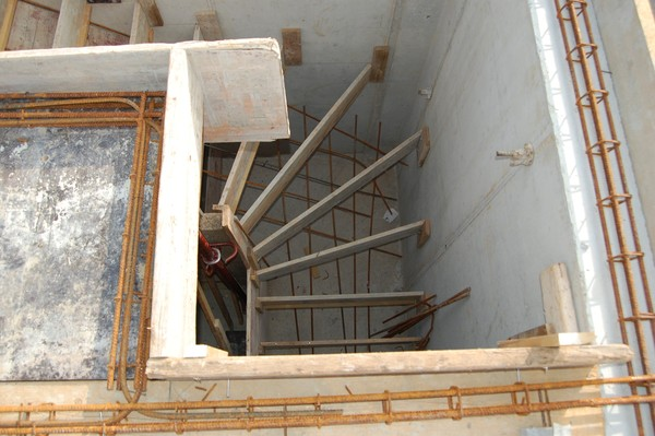 Coffrage escalier - Coffrage escalier beton droit ...